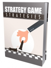 Strategy Game Strategies eBook with Master Resell Rights/Giveaway Rights