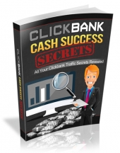 Clickbank Cash Success Secrets eBook with Resell Rights/Giveaway Rights