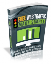 Free Web Traffic Made Simple eBook with Master Resell Rights/Giveaway Rights