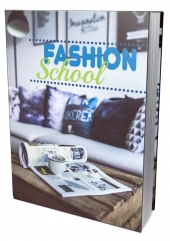 Fashion School eBook with private label rights