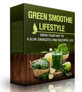 Green Smoothie Lifestyle eBook with private label rights