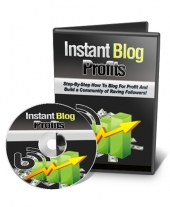 Instant Blog Profits Video with Private Label Rights