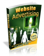 Website Advertising eBook with Master Resell Rights