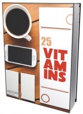 25 Vitamins eBook with private label rights