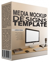 Media Mockup Designs Graphic with Personal Use Rights