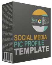 New Social Media Picture Profile Graphic with Personal Use Rights