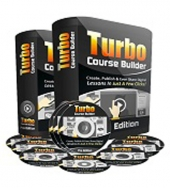 Turbo Course Builder Pro Software with Personal Use Rights
