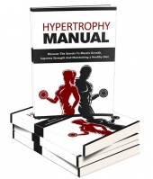 Hypertrophy Manual eBook with private label rights