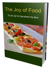 The Joy Of Food eBook with Private Label Rights