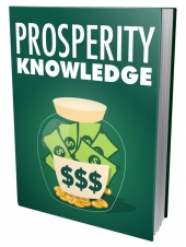 Prosperity Knowledge eBook with Master Resell Rights/Giveaway Rights