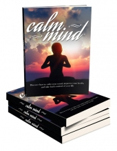 Calm Mind Healthy Body eBook with Master Resell Rights