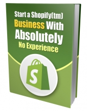 Start a Shopify Business eBook with Private Label Rights