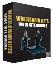 Wheelchair Lifts Video Site Builder Software with Master Resell Rights/Giveaway Rights