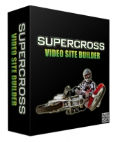Supercross Video Site Builder Software with Master Resell Rights/Giveaway Rights
