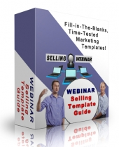 Webinar Selling Template Guide eBook with Personal Use Rights