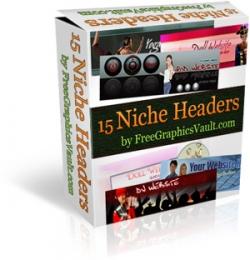 15 Niche Headers Package