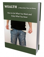 Wealthy Report eBook with Private Label Rights