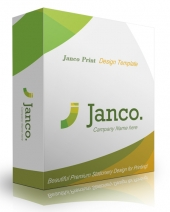 Janco Print Design Template Graphic with Personal Use Rights