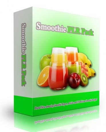 Smoothie PLR Pack