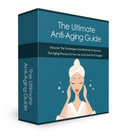 Ultimate Anti-Aging Guide eBook with private label rights