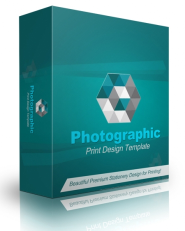 Photographic Print Design Template