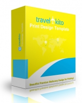 Travel Kito Print Design Template Graphic with Personal Use Rights