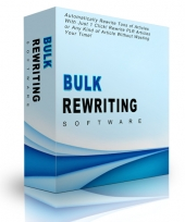 Bulk Rewriting Software eBook with Personal Use Rights