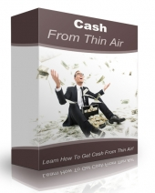 Cash From Thin Air Software with Resell Rights Only