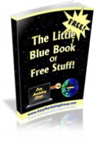 The Little Blue Book of Free Stuff! eBook with Giveaway Rights