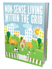 Non Sense Living Within The Grid eBook with Master Resell Rights/Giveaway Rights