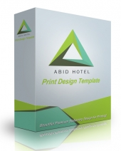 Abid Print Design Template eBook with Personal Use Rights