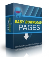 Easy Download Pages Software with Personal Use Rights