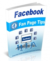 Facebook Fan Page Tips eBook with Master Resell Rights