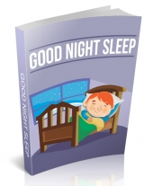 Good Night Sleep eBook with Master Resell Rights