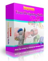 Improve Your Designing Skills eBook with Master Resell Rights