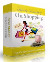 Save Money On Shopping eBook with Personal Use Rights