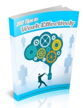 202 Tips to Work Effectively eBook with Master Resell Rights/Giveaway Rights