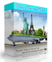 101 Ways to Travel Around The World for Cheap eBook with Personal Use Rights