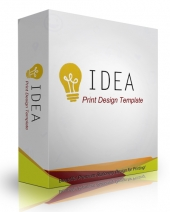 Idea Print Design Template eBook with Personal Use Rights