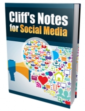 Cliffs Notes for Social Media eBook with Private Label Rights