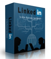 LinkedIn How Business Can Benefit eBook with Private Label Rights