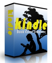 Kindle Book Cover Templates Template with Personal Use Rights