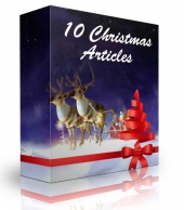 10 Christmas Articles Free PLR Article with private label rights