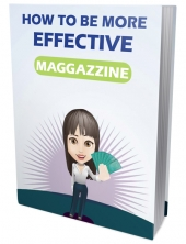 How To Be More Effective eBook with Private Label Rights