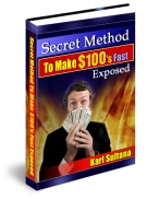 Secret Method To Make $100's Fast Exposed eBook with Master Resell Rights