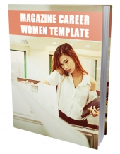 Career Women Ebook Template eBook with Private Label Rights