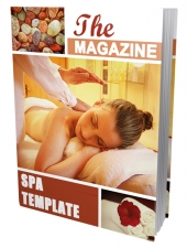 Spa Ebook Template eBook with Private Label Rights