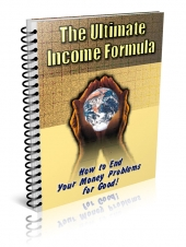 The Ultimate Income Formula eBook with Giveaway Rights