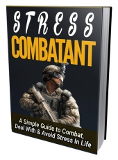 Stress Combatant eBook with private label rights