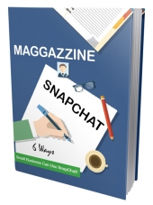 Maggazzine SnapChat eBook with private label rights